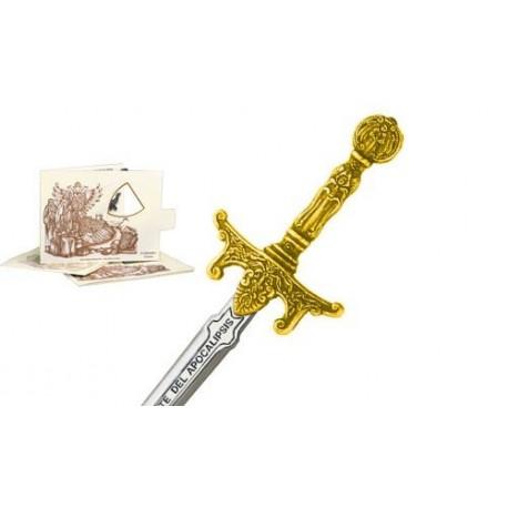 Mini Sword of Apocalypse Riders Gold