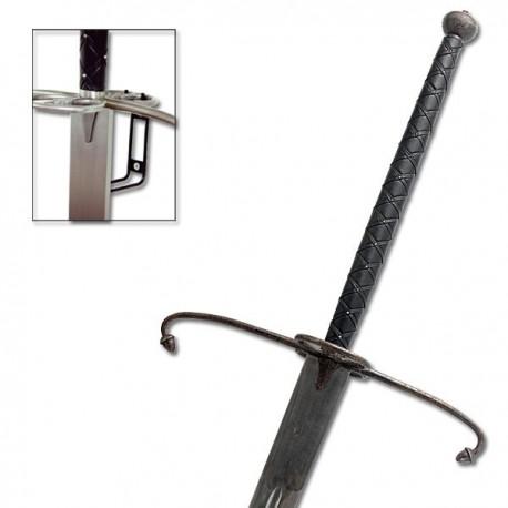 Lowlander Two Handed Sword Antiqued