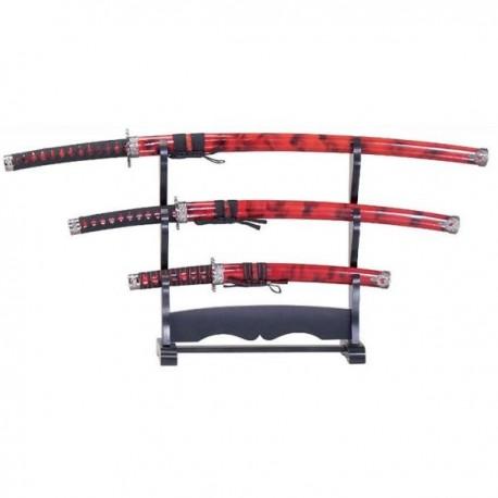 Samurai Sword Set Red