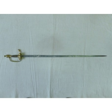 Antique Prussian Officer Rapier Sword 19th Century