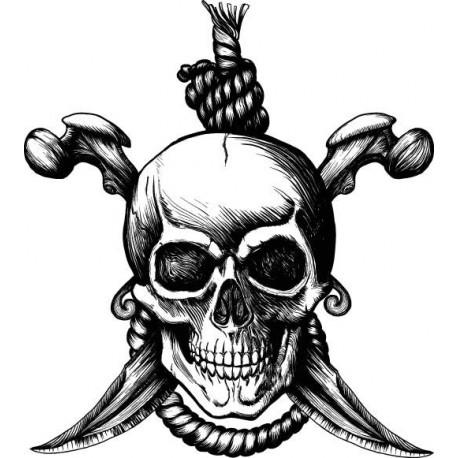 Pirate T-Shirt Hanged Man