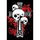 Pirate T-Shirt Cross and Skulls