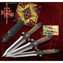 Hellhawk Throwing Knives by Kit Rae