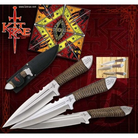 Aircobra Throwing Knives by Kit Rae