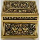 Damascene Gold Jewelry Box