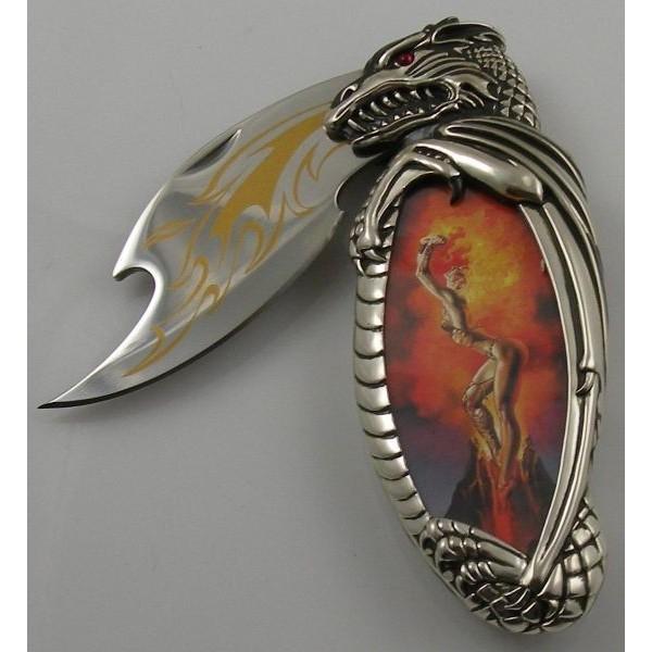 Mistress of Fire Knife by Boris Vallejo