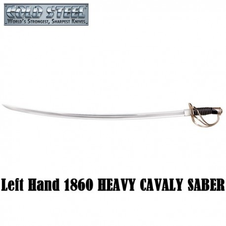 Left Hand US 1860 Heavy Cavalry Saber