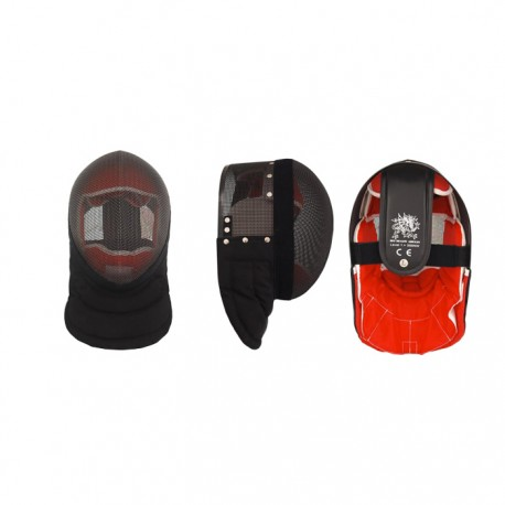 HEMA Fencing Mask Red Dragon