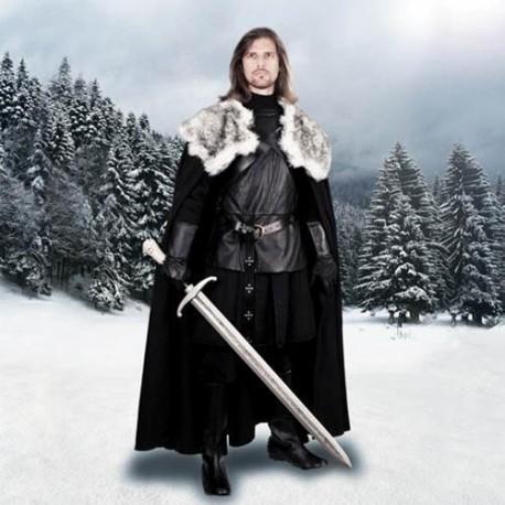 Jon Snow Night's Watch Cape