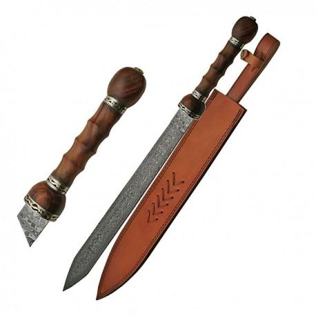 Damascus Roman Gladius Sword