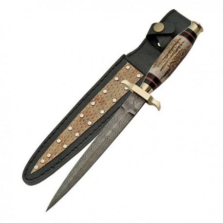 Damascus Commando Dagger
