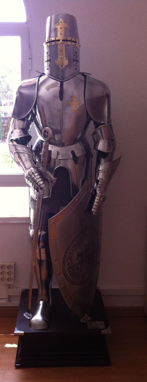 Knight Templar Armor Detail : knights templar costume authentic  - Germanpascual.Com