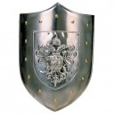 Plain Steel Shield of Charles V