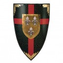 Duchy of Anjou Colored Shield of the Fleur de Lys