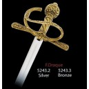 Miniature Sir Francis Drake Sword (Bronze)
