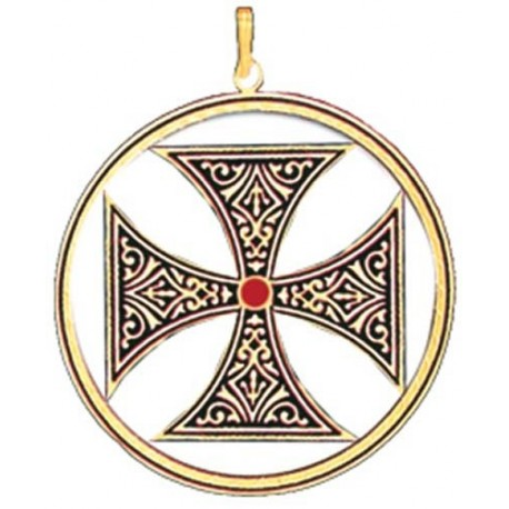 Knights templar cross pendant aloadofball Image collections