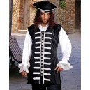 Captain La Sage Pirate Vest-Pirate costumes