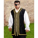 Captain Peter Pirate Vest-Pirate costumes
