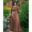 Brown Medieval Chemise-Medieval clothing
