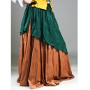 Medieval Tiered Circular Skirt-Medieval clothing