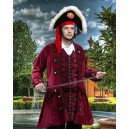 Blackbeard Pirate Coat-Pirate costume