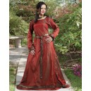 Isabel Silk Medieval Dress