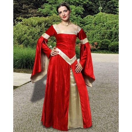 Lady of Leeds Medieval Gown C1104