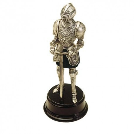 Miniature Medieval Knight Suit of Armor with Sword