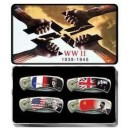 World War II 4 Piece Collector Knife Set