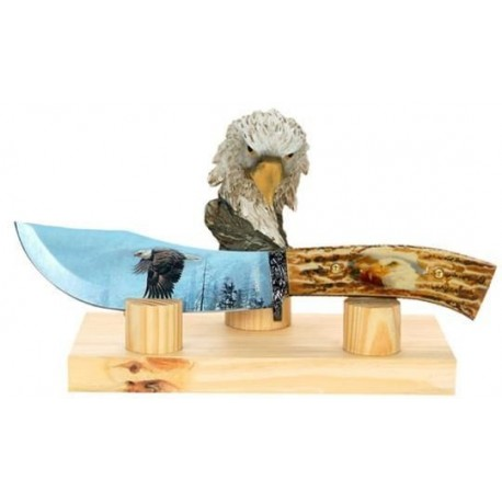 Eagle Collector Stag Hunting Knife