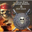 Pirates of Caribbean Two Swords and Shield