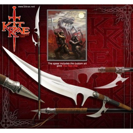 Kit Rae Ellexdrow War Spear KR0050