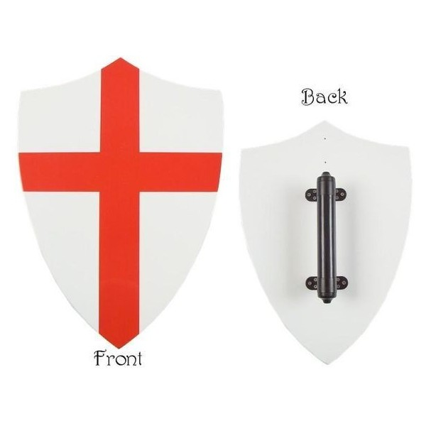 Wooden Shield Of Knights Templar