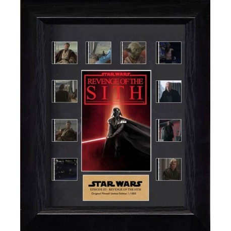 Star Wars Episode III Revenge of the Sith Film Cells