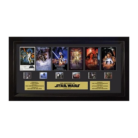 Star Wars Through The Ages Film Cell Trio
