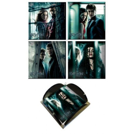 Harry Potter and the Deathly Hallows Coaster Collection