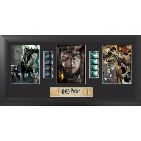Harry Potter and the Deathly Hallows Part 2 Film Cells Trio