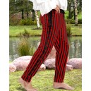 Sidestring Striped Pirate Pants