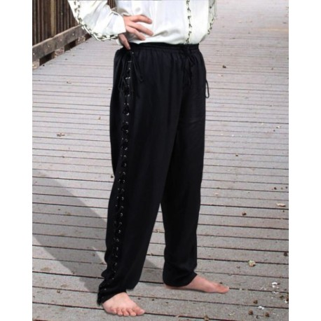 Medieval Lace-Up Pants