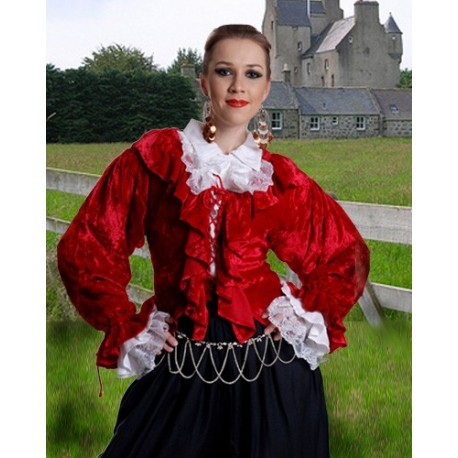 Mary Read Pirate Blouse