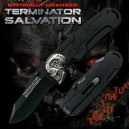 Terminator Salvation Folding Knife Black