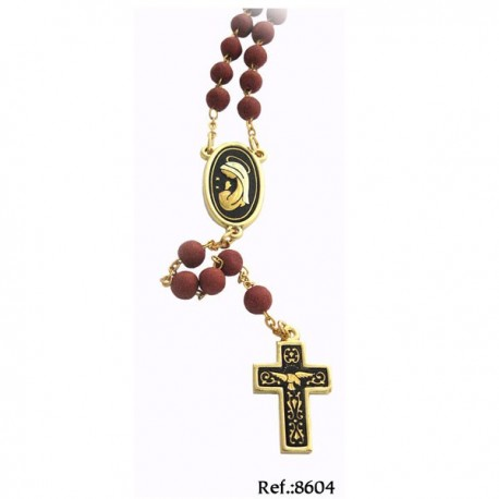 Golden Damascene Rosary-Ascension to Christ Rosary