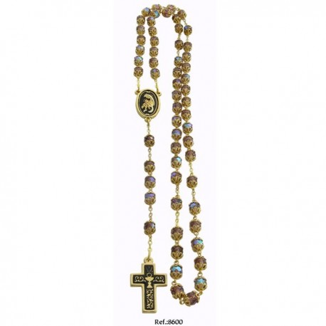 Damascene Communion Rosary Beads