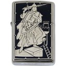Damascene Zippo Lighter (Knight)