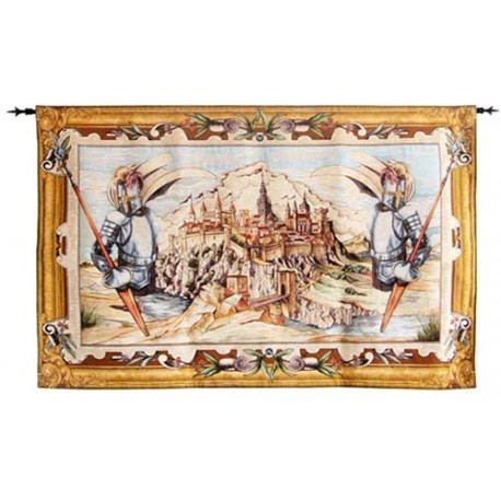Toledo Spain Medieval Tapestry (small)