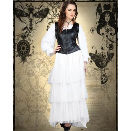 Layered Bustle Steampunk Skirt