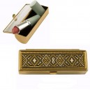 Damascene Lipstick Case Gold