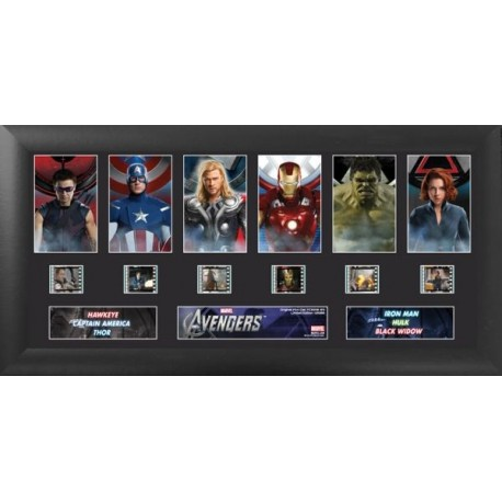 The Avengers Deluxe Collectible Film Cells