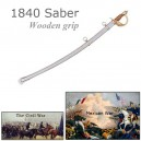 1840 Army Cavalry Saber Sword-Wood Grip
