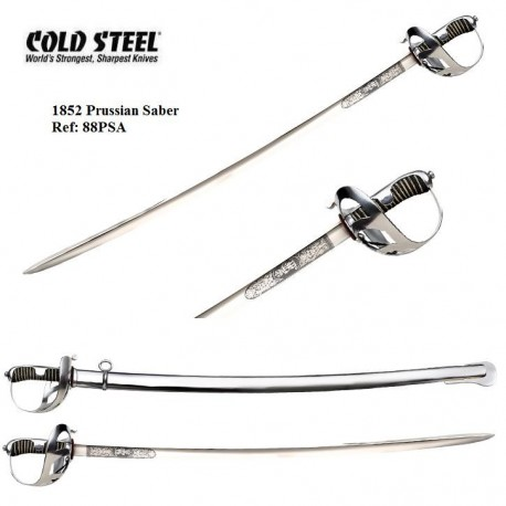 Prussian Saber 1852 Cold Steel 88PSA